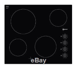 1256 NEFF T16CK40X0 60cm Electric Ceramic Hob 4 Zone Black