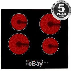 60cm Touch Control 4 Zone Electric Ceramic Hob Black 220-240V 50/60HZ Safety NEW