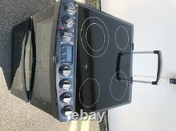 AEG CCB6740ACB 60cm Electric Cooker with Ceramic Hob Black A/A Rated