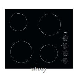 AEG HK614000CB 60cm Four Zone Ceramic Hob