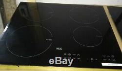 AEG HK634200FB 4 Zone Electric Induction Hob 60cm. Black Grade A