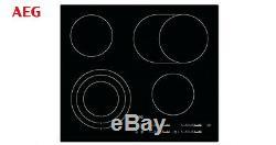 AEG HK654070IB Bulit-in Electric Ceramic Kitchen Hob Black Brand New