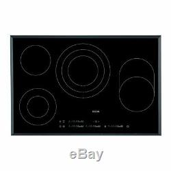 AEG HK854080FB 78cm 4 Zone Touch Control Ceramic Hob Black