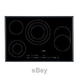 AEG HK854080FB 80cm Touch Control Ceramic Hob in Black Glass HK854080FB