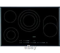 AEG HK854080FB Electric Ceramic Hob Black