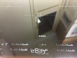 AEG HK855200FB Induction Hob 2 year guarantee included Ex display