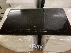 AEG HK955070FB Touch Control 90cm Wide 5 Zone Ceramic Hob Black