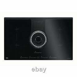 AEG IDK84451IB 4 Zone Induction Hob Integrated Cooker Hood Combo-Hob Hood A11472