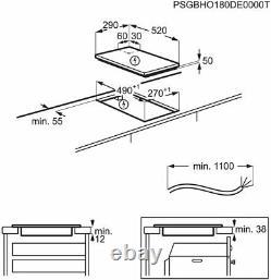 AEG IKB32200NB- 29cm Induction Domino Kitchen Hob