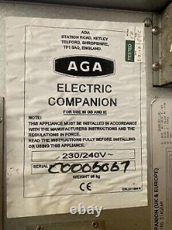 AGA Module Companion. Electric cooker, Ceramic Hobs, x2 Ovens, x4 Hobs