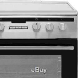 AMICA 608CE2TAXX- 60cm Single Cavity Electric Cooker with Ceramic Hob