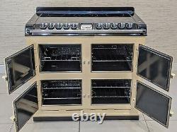 Aga Six Four All Electric Ceramic Hob Range Cooker In Cream A492
