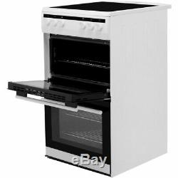 Amica AFC5100SI Free Standing A/A Electric Cooker with Ceramic Hob 50cm
