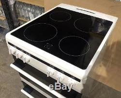 Amica AFC5100WH Free Standing Electric Cooker Ceramic Hob 50cm White C59/A45