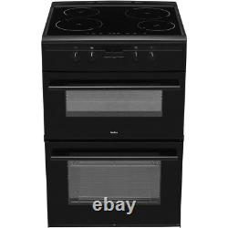 Amica AFN6550MB Free Standing A/A Electric Cooker with Induction Hob 60cm Matte