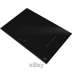 Amica PI7551RSTF 77cm Induction Frameless Touch Control Hob in Black