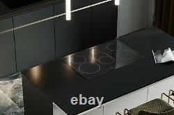 Arebos glass ceramic hob with 5 hot plates and Sensor Touch 5 zone hob