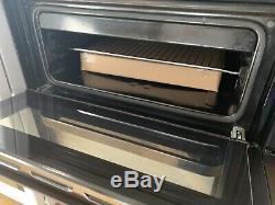 BEKO 60cm Black Electric Ceramic Hob Double oven Cooker BDVC664K Refurbished