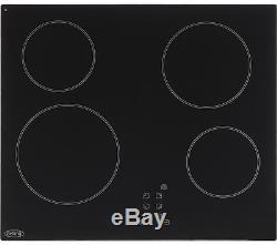 BELLING CT601 Electric Ceramic Hob 60 cm 4 zones Black