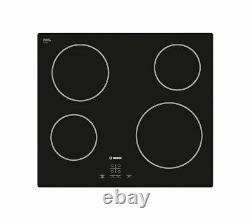 BOSCH Serie 4 Classixx PKE611D17E Electric Ceramic Hob Black Currys