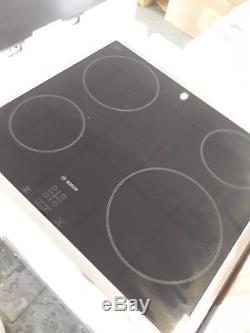 BOSCH Serie 4 PKE645B17E Electric Ceramic Hob Black (C)