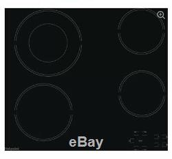 BOXED HOTPOINT HR 612 C H Electric Ceramic Hob Black 60cm 4 Zones