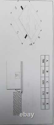 BRAND NEW BOXED CATA IBIS SLIM INDUCTION HOB 3 ZONE Glass Ceramic Silver Black