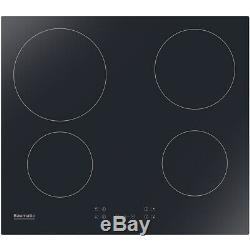 Baumatic BHIC605 59cm 4 Burners Ceramic Hob Touch Control Black