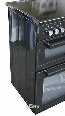 Beko 60 cm Electric Cooker Double Oven Ceramic Hob KDC653K #2462