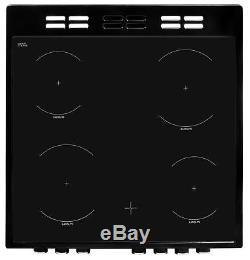 Beko ADC6M13K 60cm Black Electric Cooker Ceramic Hob Brand New