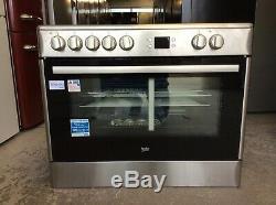 Beko BHSC90X Electric Range Cooker/Ceramic Hob B Rated UK DELIVERY #B243720