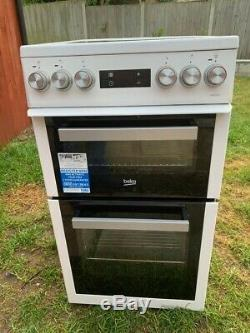 Beko Electric Cooker, Double Oven with Ceramic Hob
