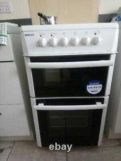 Beko Electric Cooker with Ceramic Hob White