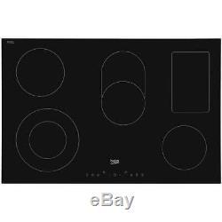 Beko HIC85402T 77cm 5 Burners Ceramic Hob Touch Control Black