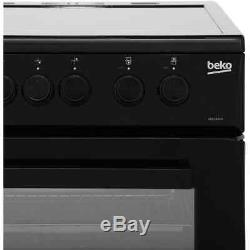 Beko KDC5422AK Free Standing A Electric Cooker with Ceramic Hob 50cm Black New