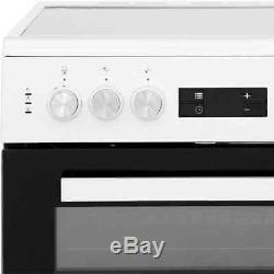 Beko KDC653S Free Standing A/A Electric Cooker with Ceramic Hob 60cm Silver New
