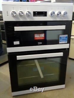 Beko KDC653W Free Standing 60cm Electric Cooker with Ceramic Hob White (2719)
