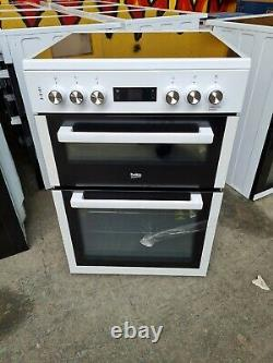 Beko KDC653W Free Standing A/A Electric Cooker with Ceramic Hob 60cm White