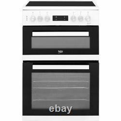 Beko KDC653W Free Standing A/A Electric Cooker with Ceramic Hob 60cm White New