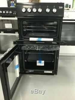 Beko KDVC563AK 50cm Electric Cooker with Ceramic Hob Black A/A Rated #251403
