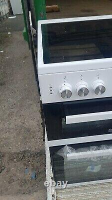 Beko edC633W Free Standing A/A Electric Cooker with Ceramic Hob 60cm White New