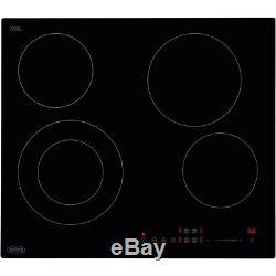 Belling CH602T 59cm 4 Burners Ceramic Hob Touch Control Black