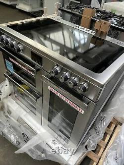 Belling Cookcentre 90E PROF 90cm Electric Range Cooker with 5 Zone Ceramic Hob