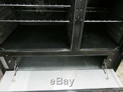Belling DB90 Black 90 cm wide Range Cooker Ceramic Hob
