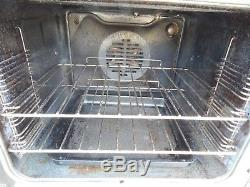 Belling Electric Cooker Black double oven and ceramic hob