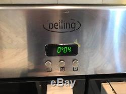 Belling Electric Range Cooker with Ceramic Hob Stainless Steel 90cm