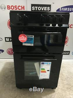 Belling FS 50 Edoc Electric Cooker with Ceramic Hob Black 3661