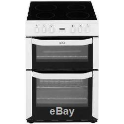 Belling FSE60DOP Free Standing Electric Cooker with Ceramic Hob 60cm Stainless