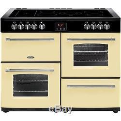 Belling Farmhouse 100E 100cm Electric Range Cooker With Ceramic Hob C 444444138