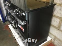 Belling Farmhouse 110E 110cm Electric Range Cooker With Ceramic Hob Black